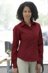Ash City 77014 Ladies Long Sleeve Shirt With Teflon