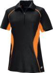 Ash City 78657 <b>New</B> Serac Ladies' Utk Cool.Logik Performance Zippered Polo</B>