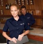 Ash City 87024 Men's Long Sleeve Shirt With Teflon