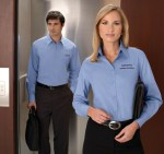Ash City 87037 <b>New</B> Men's Wrinkle Resistant Cotton Blend Poplin Taped Shirt
