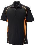 Ash City 88657 <b>New</B> Serac Men's Utk Cool.Logik Performance Zippered Polo