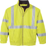 Ash City 88705 Men's Vertical Stripe Insulated Safety Jacket