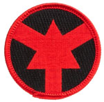 ASP 59104 ASP Red Arrow Certified Officer Patch