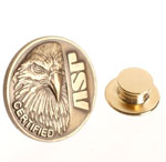 ASP 59206 ASP Eagle Certified Lapel Pin