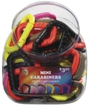 ASP 81297 Mini Carabiner Bin (Assortment of 50)