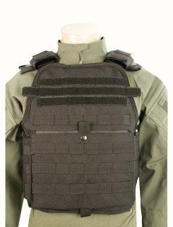 Tru-Spec® 2808 5ive Star Gear Black Bodyguard Plate Carrier Vest