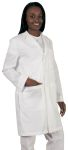 "Barco 29116 Unisex 38"" Poplin 5 Pocket Lab Coat"
