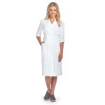 Barco 58505 3 Qtr Sleeve Button Frt Dress