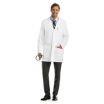 "Barco 0917 6 Pocket 35"" Side Vent Labcoat"