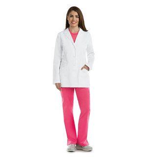 "Barco 4455 4 Pocket 30"" Princess Labcoat"