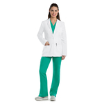 "Barco 4456 5 Pocket 28"" Waist Seam Labcoat"