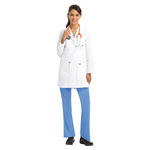 "Barco 4481 3 Pocket 34"" Waistband Labcoat"