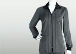 Grey's Anatomy Signature 2404 2 Pocket Contrast Collar Zip Jacket