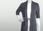 NRG 3418 2 Pocket Tie Front Cardigan
