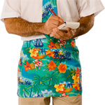 Blue Generation BG1283 BG1283Waist Apron 65/35 Poly Cotton