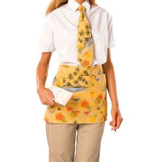 Blue Generation BG1284 BG1284Waist Apron 65/35 Poly Cotton