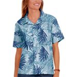 Blue Generation BG3107 Tonal Print Camp Shirt