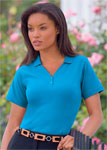 Blue Generation BG4704 Ladies Stretch Polo