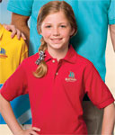 Blue Generation BG5204 Youth Superblend S/S Pique Polo