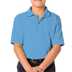 Blue Generation BG5500 Youth Soft Touch Pique Polo