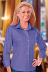 Blue Generation BG6218 Ladie's Easy Care Stretch Poplin