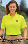 Blue Generation BG6510 Ladie's High Visibility Pique Polo
