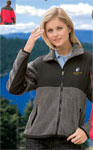 Blue Generation BG6950 Ladies Colorblock Micro Fleece Jacket