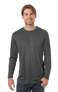 Blue Generation BG7303 Adult Value Wicking L/S Tee