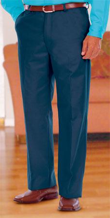 Blue Generation BG8001P Mens Teflon Twill Flat Front Pant
