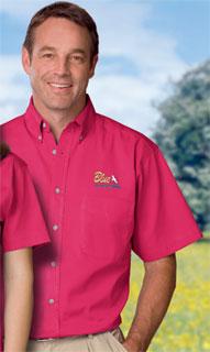 Blue Generation BG8213S BG8213S Mens L/S 100% cotton twill Shirt