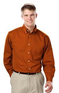 Blue Generation BG8213T BG8213T Mens L/S 100% cotton twill Shirt