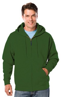 Blue Generation BG9302ZT Adult Tall Zip Front Hoodie