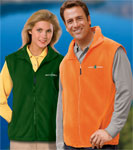 Blue Generation BG9953 Mens Micro Fleece Zip Front Vests