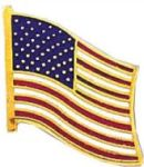 Blackinton Insignia and Recognition J-137 American Flag Pin