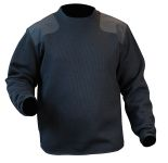 Blauer 221 Fleece-Lined Crew Neck Sweater
