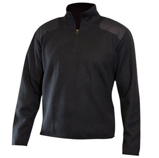 Blauer 228 Fleece-Lined Quarter Zip Sweater