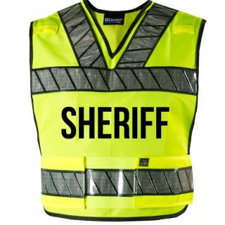 Blauer 339R-S Oralite Breakaway Safety Vest - Sheriff Logo