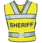 Blauer 340S Breakaway Safety Vest w/ Sheriff Logo