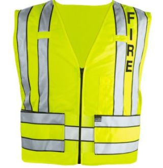 Blauer 342F Zip-Front Breakaway Safety Vest w/ Fire Logo