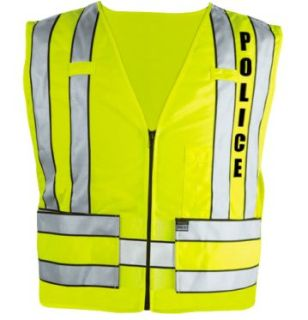Blauer 342P Zip-Front Breakaway Safety Vest w/ Police Logo
