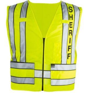 Blauer 342S Zip-Front Safety Vest w/ Sheriff Logo