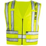 Blauer 343F 343F 343F Zip-Front Breakaway Safety Vest w/ Fire Logo