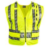 Blauer 343R-F Oralite Breakaway Safety Vest - Fire Logo