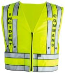 Blauer 343 343 343 343 343 Zip-Front Breakaway Safety Vest