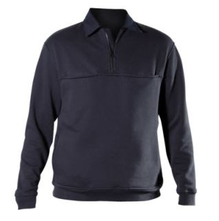 Blauer 4635X Job Shirt With Rib Knit