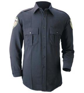 Blauer 8140 Long Sleeve BicomponentKnit Shirt