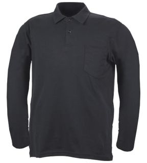 Blauer 8141-1 Long Sleeve Bicomponent Polo Shirt
