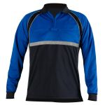Blauer 8143 Colorblock Performance Polo Shirt