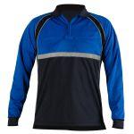 Blauer 8143 Colorblock Performance Polo Shirt