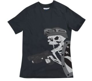 Blauer 8320 Graphic T-Shirt - Skull And Shield
